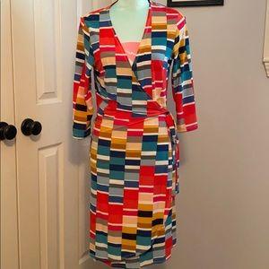 NWOT Tacera wrap dress